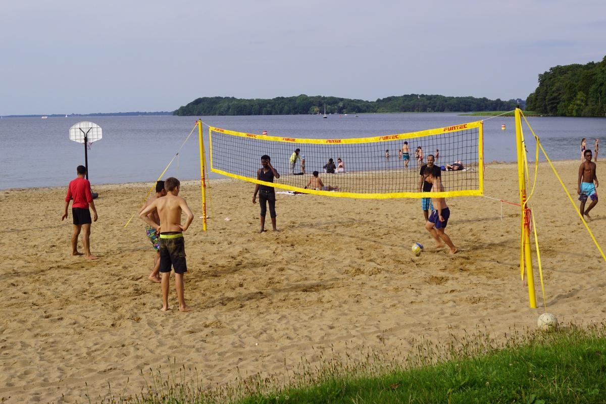 Beachvolleyball- international